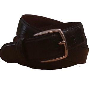 """💙Men's COACH calfskin Belt 36"""" 2/$20"""